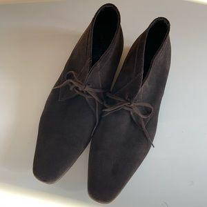 CALVIN KLEIN Ballard Suede Chukka Boots Size 14